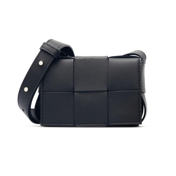 Mini bag with maxi weave                                                                                                                              Bottega Veneta 666688 back
