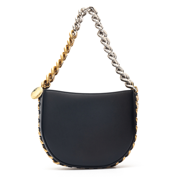 Small shoulder bag with two-tone chain                                                                                                                Stella Mccartney 700237 back