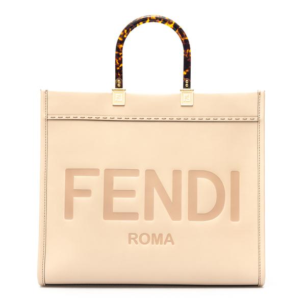 Leather shopper                                                                                                                                       Fendi 8BH386 back