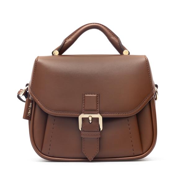 Brown shoulder bag with card holder                                                                                                                   Max Mara ANNAS1 back
