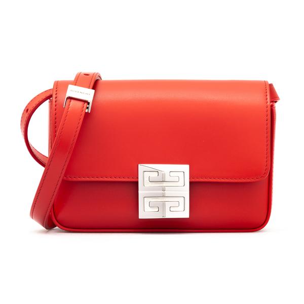 Borsa a tracolla rossa con logo metallico                                                                                                             Givenchy BB50HD retro