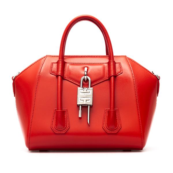 Borsa a mano Antigona rossa con lucchetto                                                                                                             Givenchy BB50J0 retro
