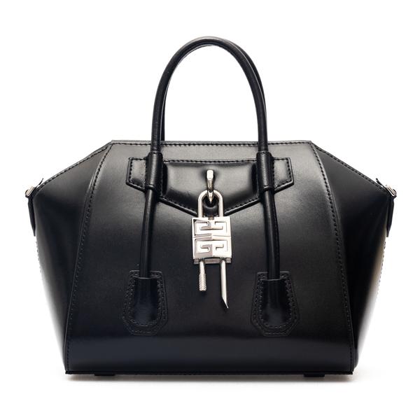 Borsa a mano Antigona nera con lucchetto                                                                                                              Givenchy BB50J0 retro