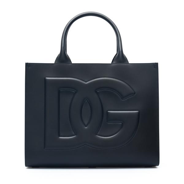 Borsa tote nera con logo                                                                                                                              Dolce&gabbana BB7023 retro