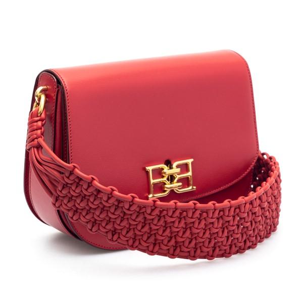 Borsa a spalla rossa con intreccio                                                                                                                     BALLY                                              BALLY