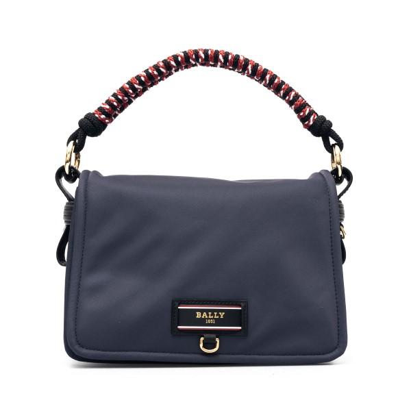 Blue handbag with logo                                                                                                                                Bally EKYRASH17 back