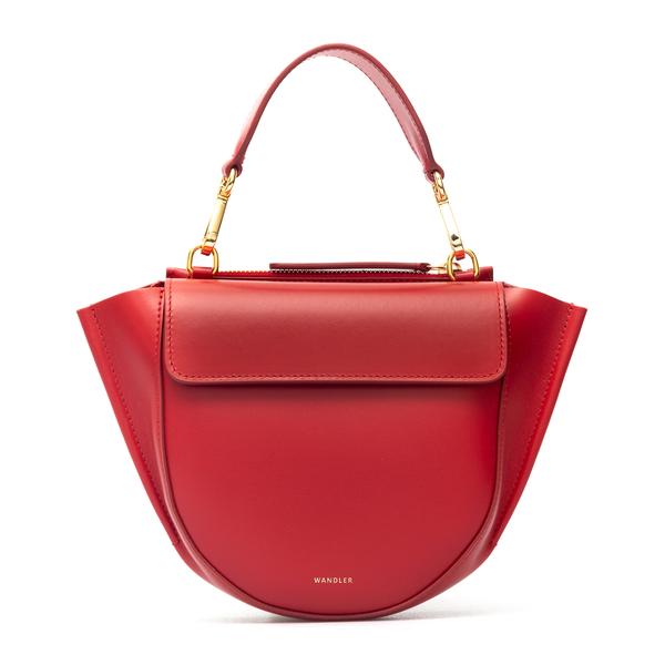 Rounded red shoulder bag                                                                                                                              Wandler HORTENSIA MINI BAG back