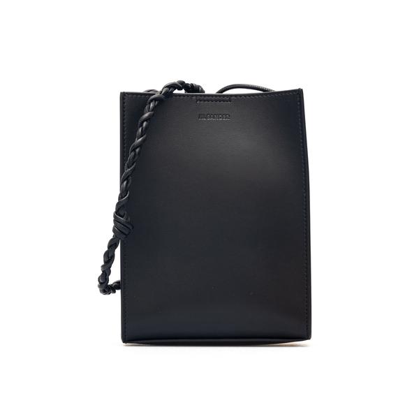 Borsa nera piccola a spalla con logo                                                                                                                  Jil Sander JSMT853173 retro
