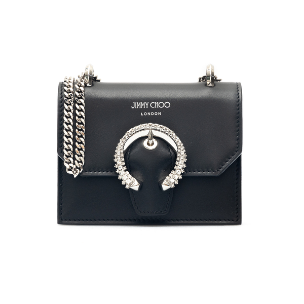 Mini bag with rhinestone detail                                                                                                                       Jimmy Choo MINIPARIS back