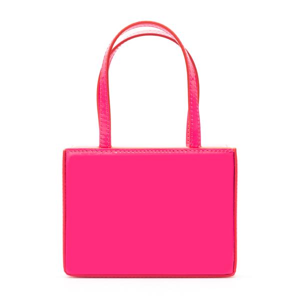 Fuchsia mini bag                                                                                                                                      Amina Muaddi SUPERAMINIGIORGIA back