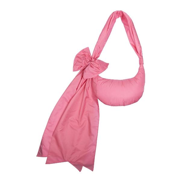 Borsa a spalla rosa con fiocco oversize                                                                                                               Red valentino VQ2B0C44BAA fronte