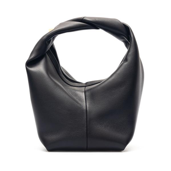 Borsa a mano nera con borchia oro                                                                                                                     Valentino Garavani VW0B0J15 retro