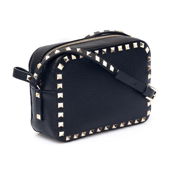 Black shoulder bag with studs                                                                                                                          VALENTINO GARAVANI
