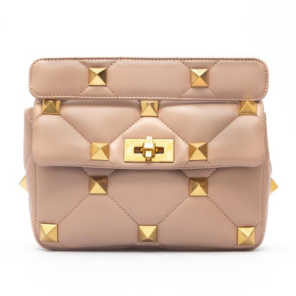 Pink shoulder bag with studs                                                                                                                          Valentino Garavani WW0B0I82 back