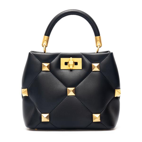 Handbag with maxi gold studs                                                                                                                          Valentino Garavani WW2B0I97 back