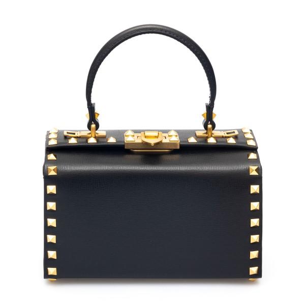 Black briefcase style shoulder bag                                                                                                                    Valentino Garavani WW2B0J73 back