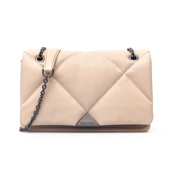 Black shoulder bag in quilted design                                                                                                                  Emporio Armani Y3B142 back