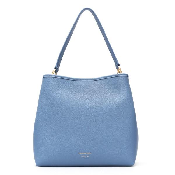 Light blue shoulder bag with logo                                                                                                                     Emporio Armani Y3E168 back
