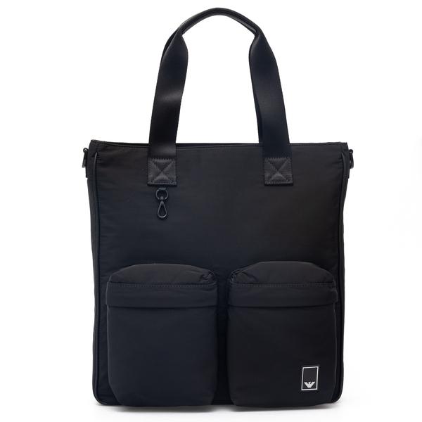 Nylon shopper                                                                                                                                         Emporio Armani Y4N127 back