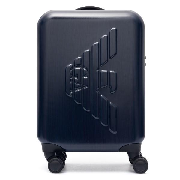 Blue trolley with logo                                                                                                                                Emporio Armani Y4Q093 back