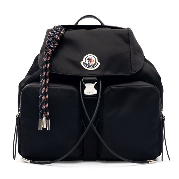 Black backpack with rope tassel                                                                                                                       Moncler 5A70000 front