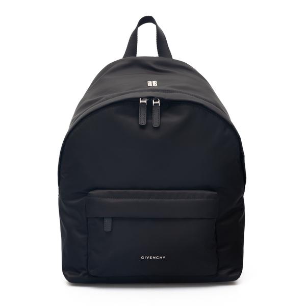 Zaino nero con applicazione logo                                                                                                                      Givenchy BK508H retro