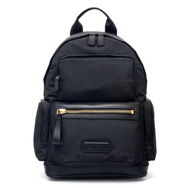 Zaino nero con tasche multiple                                                                                                                        Tom Ford H0460T retro