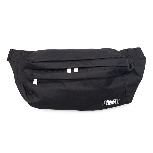 Black belt bag with logo embroidery                                                                                                                   Puma X Maisonkitsune 07743101 back