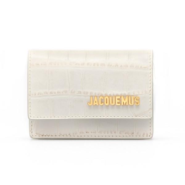 Marsupio mini bianco a cintura                                                                                                                        Jacquemus 211AC16 retro