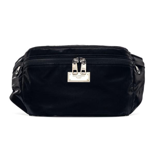Black belt bag with gold plate                                                                                                                        Dolce&gabbana BM1956 back