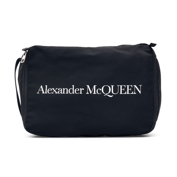 Black clutch with logo                                                                                                                                Alexander Mcqueen 649777 back