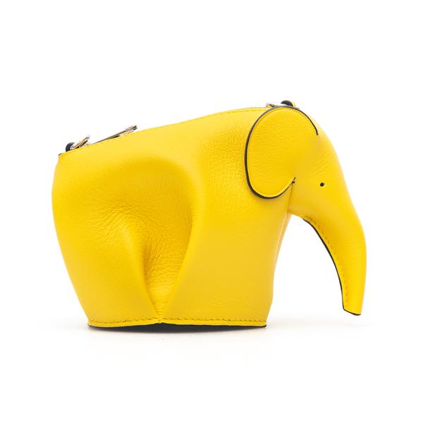 Pouch gialla a elefante                                                                                                                               Loewe C623R02X01 retro