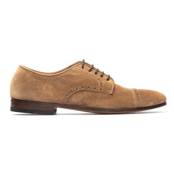 Suede lace-up in light brown                                                                                                                          Henderson 71203S1 back