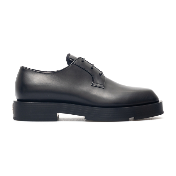 Black lace-up with logo plaque                                                                                                                        Givenchy BH1034 back