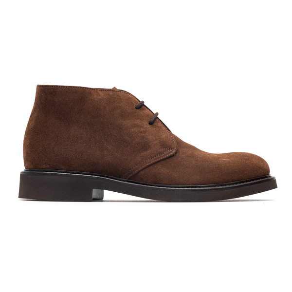High brown lace-ups                                                                                                                                   Doucal's DU1018 back