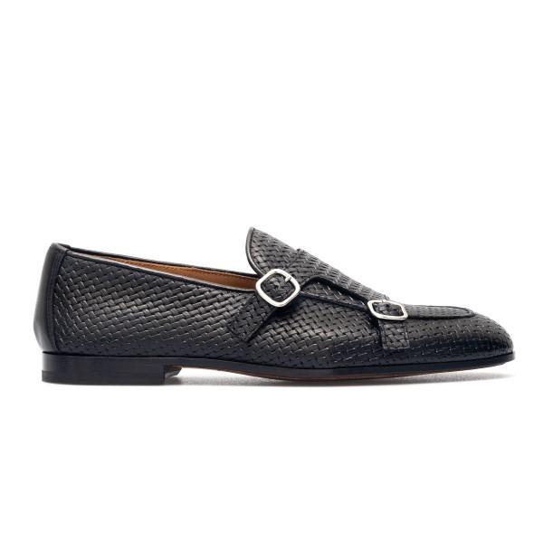 Black woven loafers                                                                                                                                   Doucal's DU2363 back