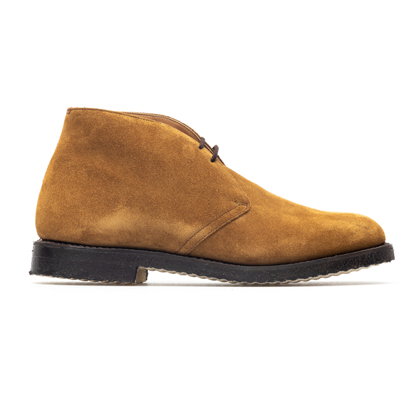 Brown suede lace-ups                                                                                                                                  Church ETC002 back