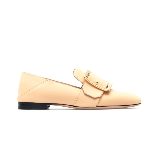 Pink loafers with decorative buckle                                                                                                                   Bally JANELLE front