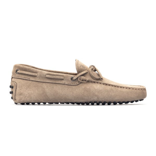 Beige suede loafers                                                                                                                                   Tods XXM0GW05470 back