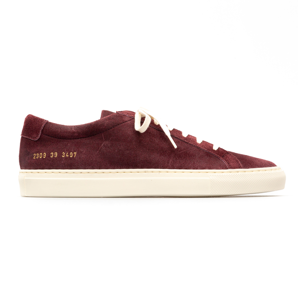 Low burgundy sneakers                                                                                                                                 Common Projects 2309 back