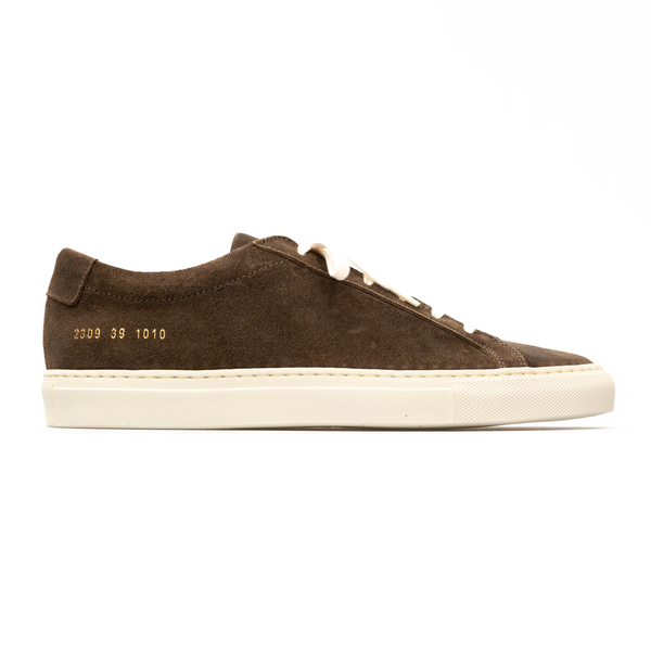 Low brown sneakers                                                                                                                                    Common Projects 2309 back