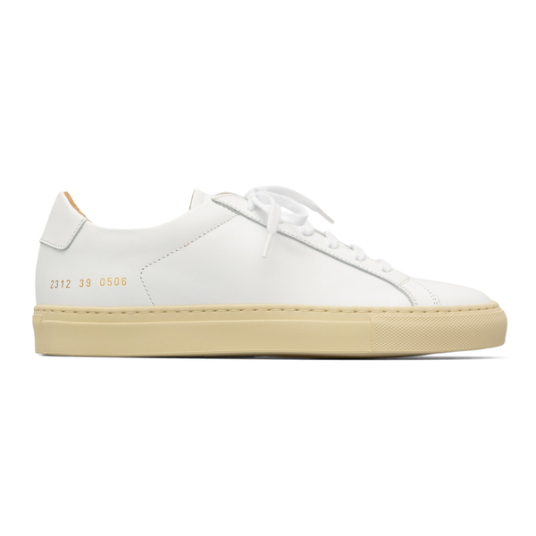 Minimal white sneakers                                                                                                                                Common Projects 2312 back