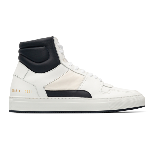High white sneakers with black detail                                                                                                                 Common Projects 2319 back