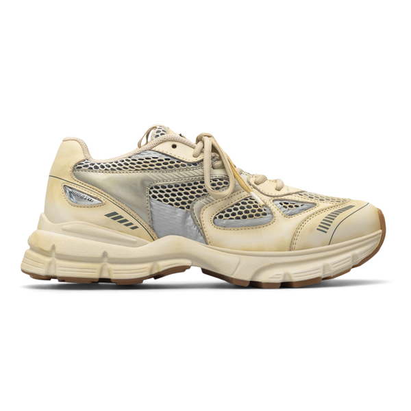 Beige sneakers with mesh panels                                                                                                                       Axel Arigato 33111 back