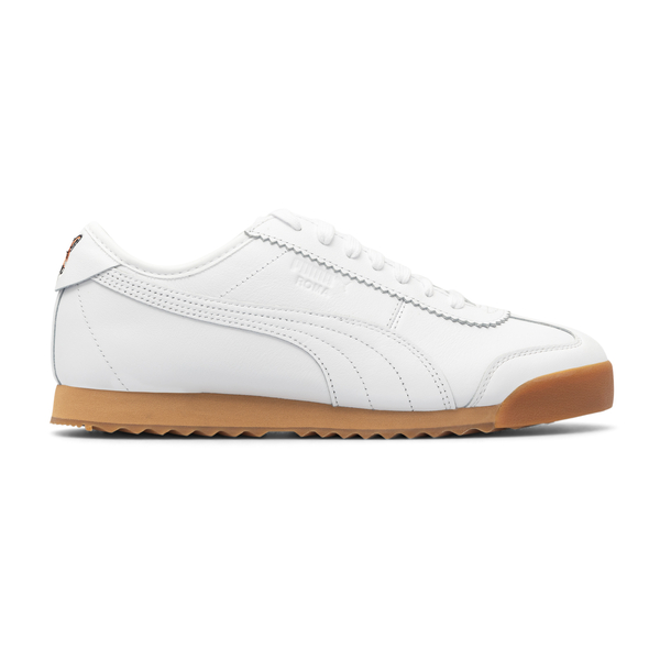 White sneakers with fox embroidery                                                                                                                    Puma X Maisonkitsune 38022301 back