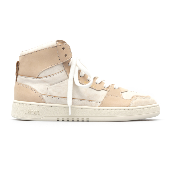 White and pink sneakers with logo                                                                                                                     Axel Arigato 41016 back