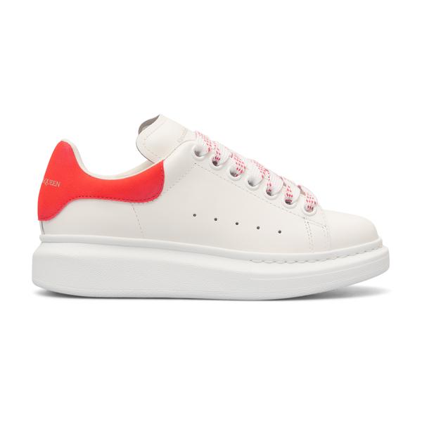 Sneakers bianche con tallone rosso                                                                                                                    Alexander Mcqueen 553770 retro
