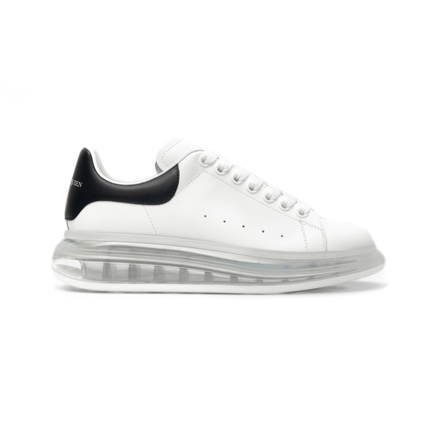 White sneakers with transparent sole                                                                                                                  Alexander Mcqueen 604232 back