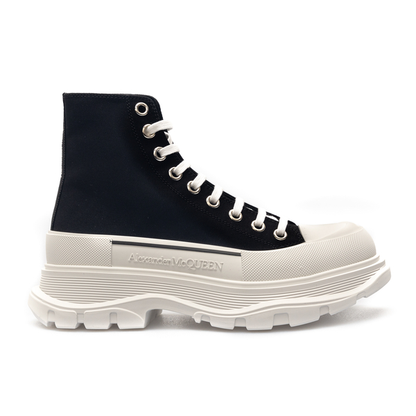 High black sneakers with chunky sole                                                                                                                  Alexander Mcqueen 604254 back