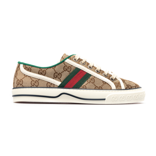Sneakers in logoed canvas                                                                                                                             Gucci 606110 back